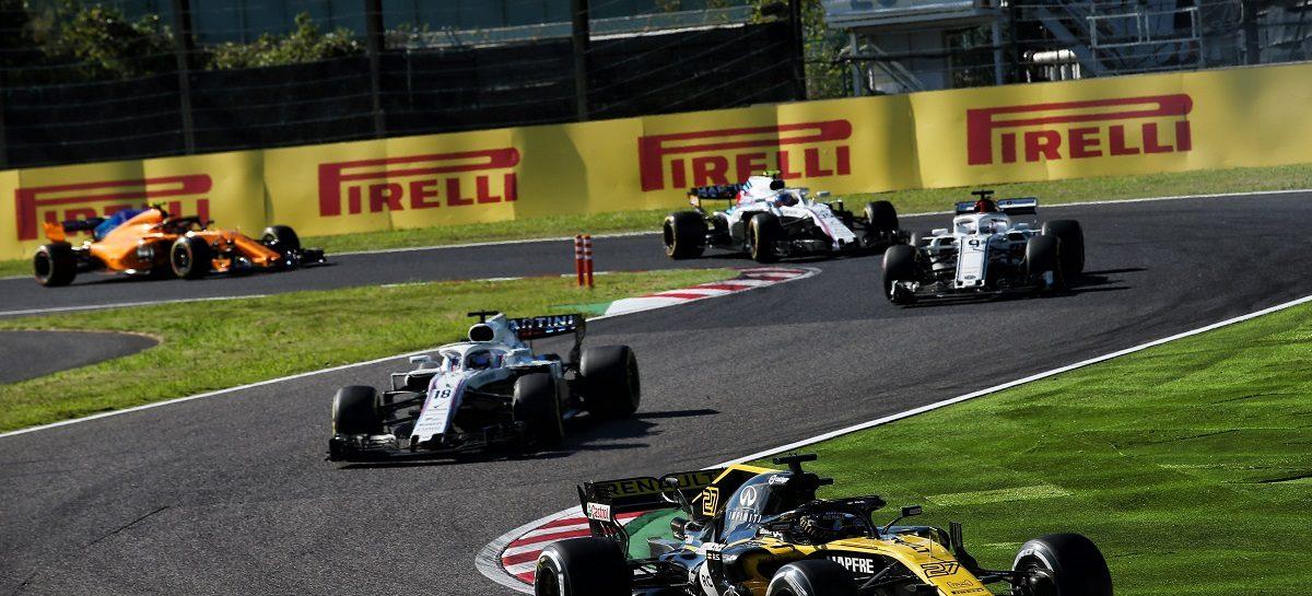 Renault Sport Formula One Team на Гран-При Японии