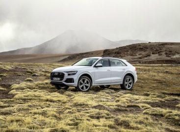 Audi объявила цены на Q8 для России
