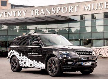 Range Rover Sport с системой автопилота самостоятельно проехал  по одной из самых сложных трасс Великобритании