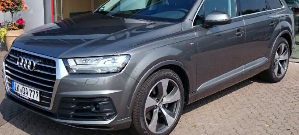 Фото нового Audi Q7 без камуфляжа