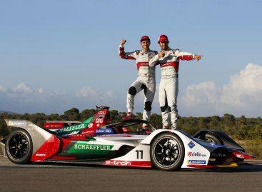 Audi e-tron FE05 в новом сезоне Formula E