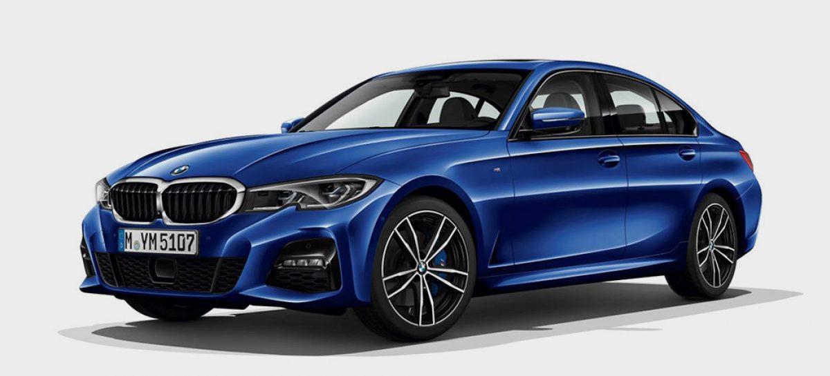 BMW случайно раскрыла внешность нового седана BMW 3-Series