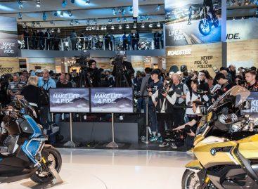 BMW Motorrad на мотосалоне EICMA 2018 в Милане