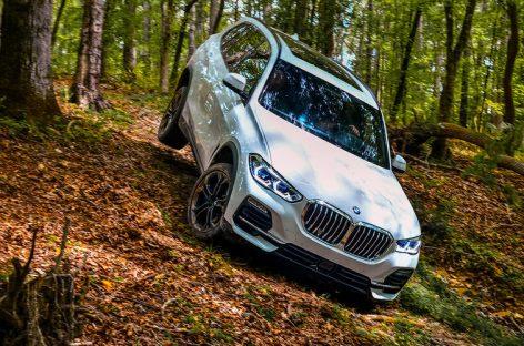 Новый BMW X5 — тест-драйв в вездеходных режимах