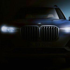Первое официальное фото огромного кроссовера BMW X7