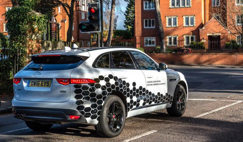 Беспилотный Range Rover Sport
