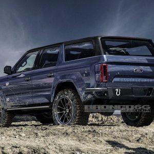 Новый Ford Bronco получит семиступенчатую механику