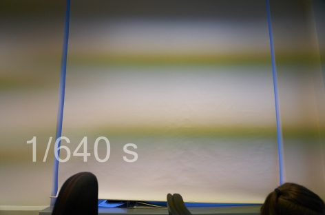 Полосы при съемке на беззеркальную камеру при искусственном освещении