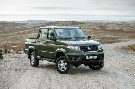 Стартовали продажи обновленного УАЗ Пикап