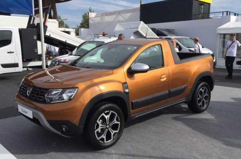 Romturingia создала пикап-версию рестайлингового кроссовера Dacia Duster