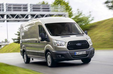 Продажи Ford Transit увеличились на 5% в первом полугодии 2019 года