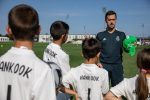Hankook пригласила ФК Реал Мадрид провести тренировку по футболу для Детских деревень