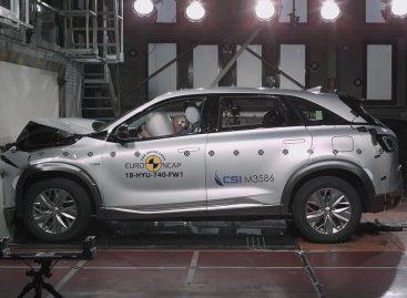 Hyundai Nexo получил пять звезд в краш-тестах Euro NCAP
