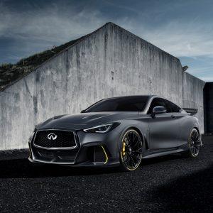 Революционная модель Q60 Project Black S стала впечатляющим результатом сотрудничества INFINITI и гоночной команды Renault Sport Formula One Team