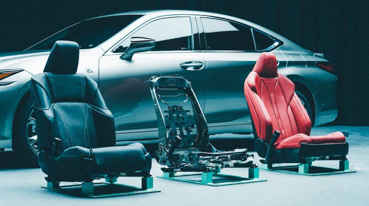 Как создают современные автокресла: на примере Lexus ES седьмого поколения