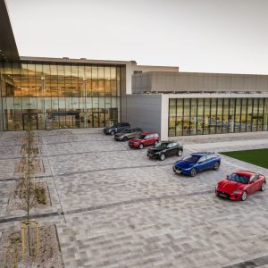 Jaguar Land Rover открывает новый завод в Словакии