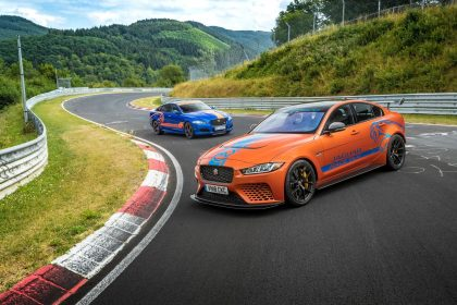 Jaguar XE SV Project 8 Race Taxi