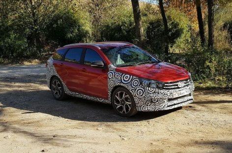 АвтоВАЗ тестирует Lada Vesta Sport универсал