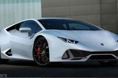 Опубликовано первое фото Lamborghini Huracan 2020