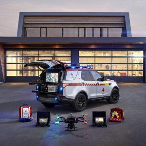 Land Rover Discovery пополнит парк автомобилей  экстренного реагирования Красного Креста