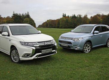 Mitsubishi Outlander PHEV исполнилось пять лет
