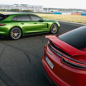 Porsche дополняет семейство Panamera двумя новыми особо спортивными моделями