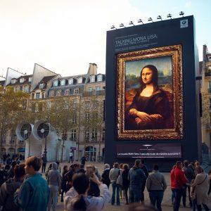 «Привет, Мона Лиза!» - новый интеллектуальный персональный ассистент BMW оживил самую знаменитую картину в мире