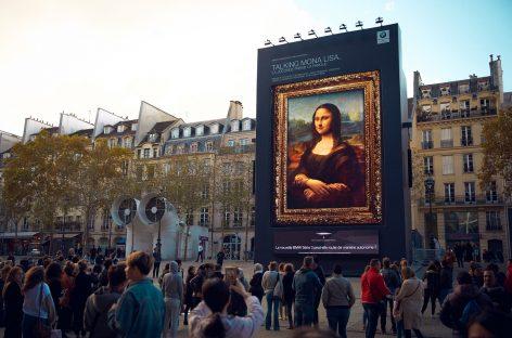 «Привет, Мона Лиза!» — новый интеллектуальный персональный ассистент BMW оживил самую знаменитую картину в мире