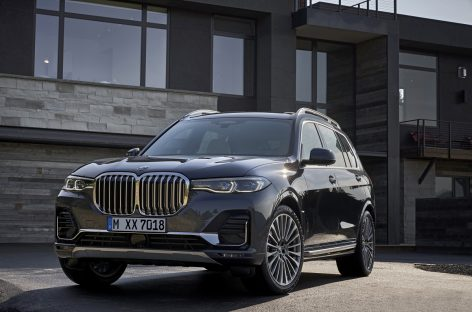 Представлена новая модель BMW X7