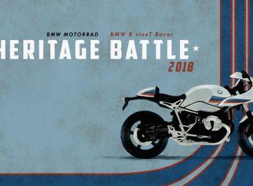 Победа БайкХаус Екатеринбург на BMW Motorrad Heritage Battle 2018