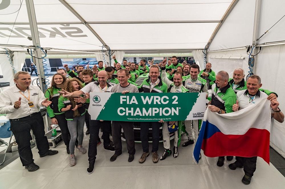 Ралли Испании - юниор SKODA Рованпера опередил Копецки, нового чемпиона WRC 2 (2)
