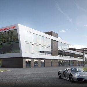 Состоялась церемония закладки фундамента спортивно-развлекательного центра Porsche Experience