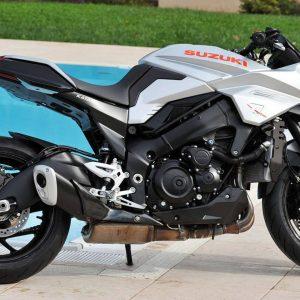 Новый мотоцикл Suzuki KATANA был представлен на выставке Intermot 2018