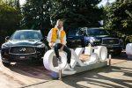 Компания Infiniti отметила запуск новых моделей на российском рынке