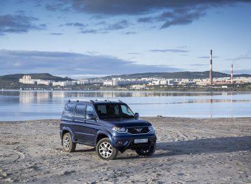 Обновленный УАЗ Патриот поступил в продажу