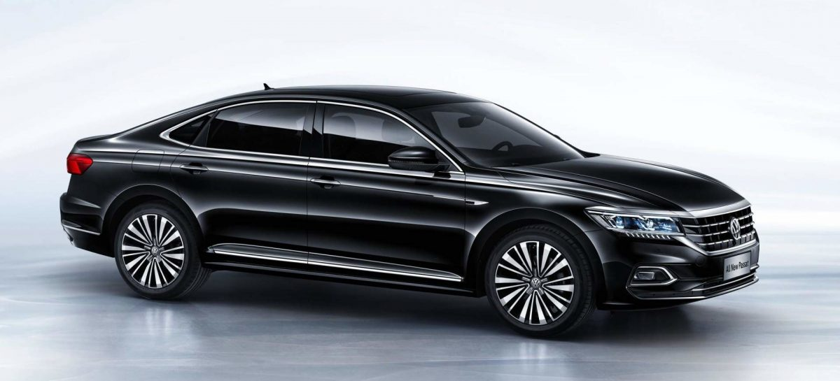 В Китае официально дебютировало новое поколение Volkswagen Passat