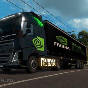 Volvo и NVIDIA работают над новым ИИ-компьютером для автомобилей будущего