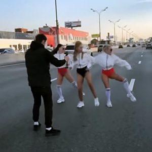 Жена депутата создала огромную пробку на МКАД ради съемок клипа