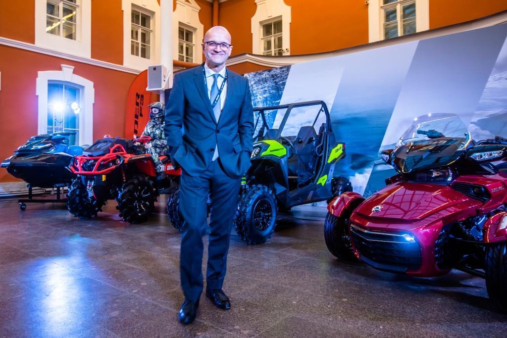 Жозе Божоли Президент и Генеральный директор компании BRP
