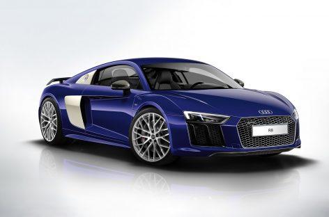 Скоро состоится премьера обновленного суперкара Audi R8