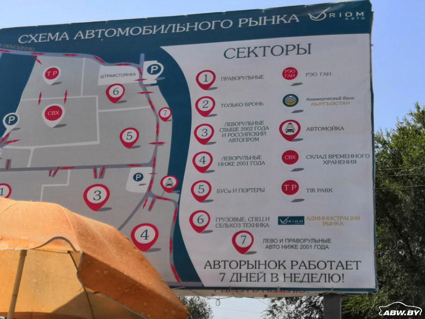 авторынок Бишкека