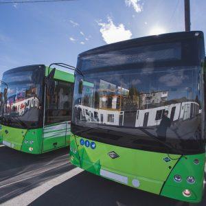 В Петропавловск-Камчатский поступил 21 новый автобус LOTOS 206 для пассажирских перевозок