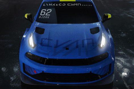 Geely построила 500-сильный гоночный седан Lynk & Co 03 Cyan