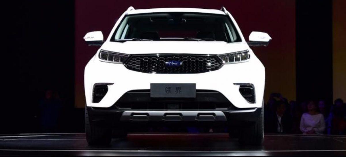 На рынке Китая в начале 2019-го появится новый кроссовер Ford Territory