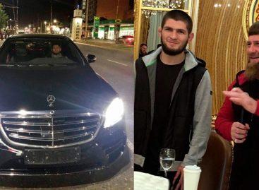 Бойцу UFC Хабибу после боя с Конором Рамзан Кадыров подарил Mercedes S-Class W222