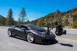 Как снимают автомобили на большой скорости