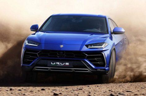 Lamborghini тестирует обновленный Urus
