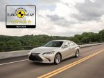 Lexus ES седьмого поколения признан одним из самых безопасных автомобилей по версии Euro NCAP 2018
