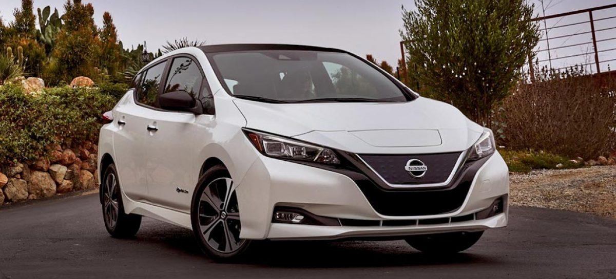 Через год после выхода на рынок новый Nissan LEAF возглавляет рейтинги продаж в Европе