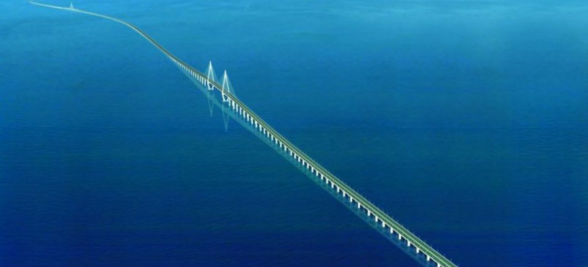Открывается самый длинный мост в мире